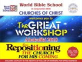 WBS GREAT WORKSHOP – A TOOL FOR EFFECTIVE EVANGELISM