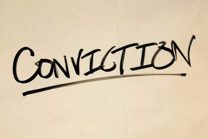 GROWING YOUR CONVICTION
