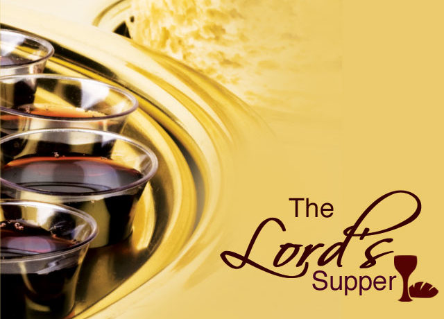 THE LORD'S SUPPER AS AN ACT OF WORSHIP